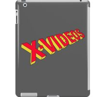 x-men x-videos iPad Case/Skin
