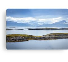 Sail-in to Bodo, Norway Metal Print