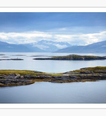 Sail-in to Bodo, Norway Sticker