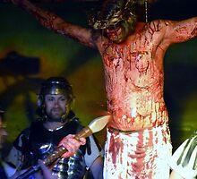 Spearing of Jesus by WaltCueto