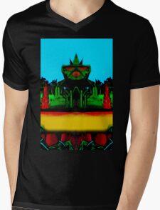 Vivid 2016 Primordial Temple Mens V-Neck T-Shirt