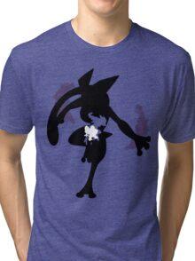 Froakie - Frogadier - Greninja ( Evolution line ) Tri-blend T-Shirt