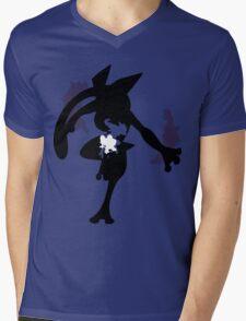 Froakie - Frogadier - Greninja ( Evolution line ) Mens V-Neck T-Shirt
