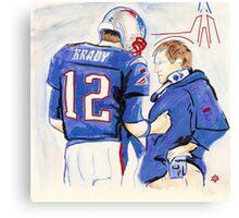 Brady - Belichick Canvas Print