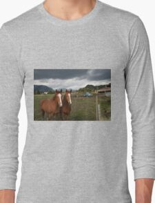 Country Twins Long Sleeve T-Shirt