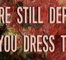 Dress Up Sticker