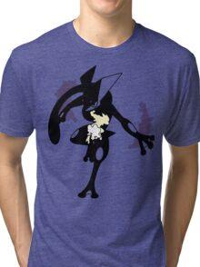 Froakie - Frogadier - Greninja ( Evolution line ) V2 Tri-blend T-Shirt