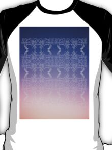 CHARIOT EGYPTIAN SUNSET PATTERN T-Shirt