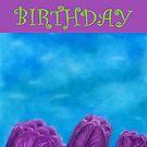 Happy Birthday - Tulips by Julie Thomas