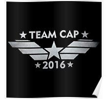 Team Cap 2016 - Grunge Poster