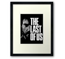 TLOU Joe Framed Print