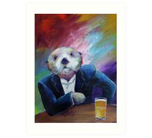 Most Interesting Otter Art Print