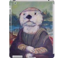 Mona Lisa Otter iPad Case/Skin