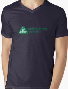 Early Gurning Centre Mens V-Neck T-Shirt
