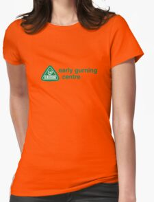 Early Gurning Centre Womens Fitted T-Shirt