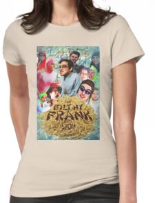 Filthy Frank - King of Filth (Distressed) Womens Fitted T-Shirt