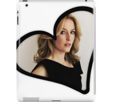 Gillian Anderson Heart iPad Case/Skin