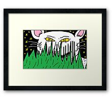 They can't see me Framed Print