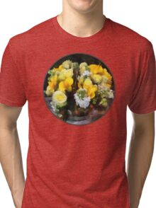 Bouquet With Roses and Calla Lilies Tri-blend T-Shirt