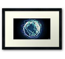 World Of Sound | Planet Earth Framed Print