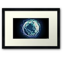 World Of Sound | Planet Earth Framed Print