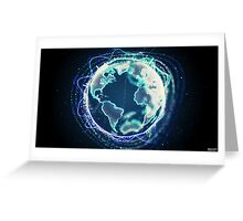 World Of Sound | Planet Earth Greeting Card