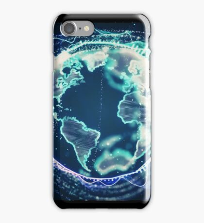World Of Sound | Planet Earth iPhone Case/Skin