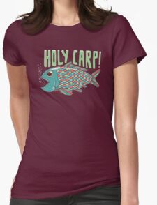 Holy Carp! Womens Fitted T-Shirt