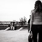 NYC Highline people by Cvail73