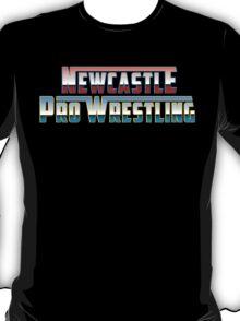 Newcastle Pro Wrestling Retro Logo T-Shirt