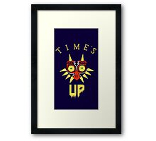 Majora's Mask - Time's Up Framed Print