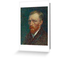 Vincent van Gogh Self Portrait  Greeting Card