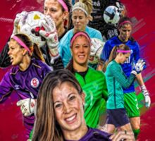 Steph Labbé (From University of Connecticut to Washington Spirit + CANWNT) Sticker