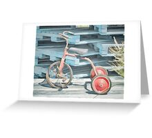The Joy of Tricycles  Greeting Card