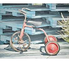The Joy of Tricycles  Photographic Print