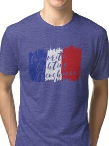 Fighting French Tri-blend T-Shirt