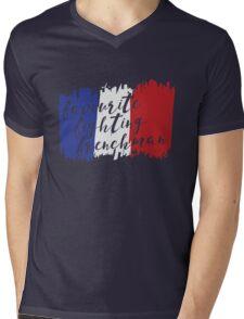 Fighting French Mens V-Neck T-Shirt