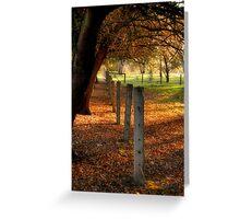 Autumn Day II Greeting Card