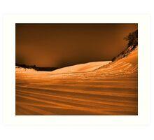 Dramatic Dunes Art Print