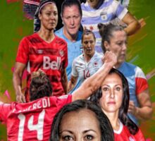 Melissa Tancredi (From University of Notre Dame to KIF Örebro DFF + CANWNT) Sticker