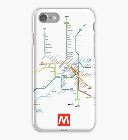 rome subway iPhone Case/Skin