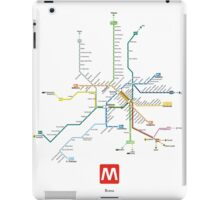 rome subway iPad Case/Skin