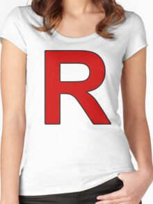 Team Rocket - Jessie and James Women's Fitted Scoop T-Shirt