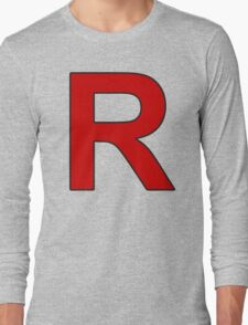 Team Rocket - Jessie and James Long Sleeve T-Shirt