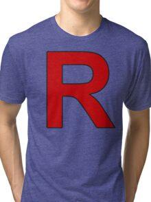 Team Rocket - Jessie and James Tri-blend T-Shirt