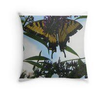 Butterfly016 Throw Pillow