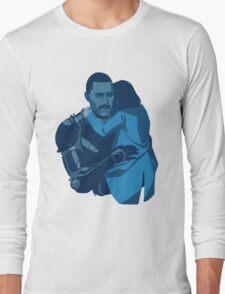 found in a drift Long Sleeve T-Shirt