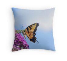 Butterfly017 Throw Pillow