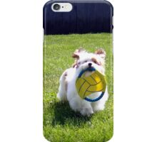 Time For a Game of Fetch! iPhone Case/Skin