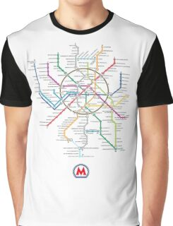 moscow subway Graphic T-Shirt
